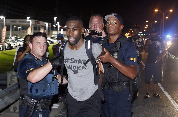 Reporters, activist arrested during Baton Rouge protests