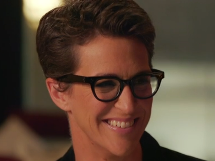 how tall is rachel maddow