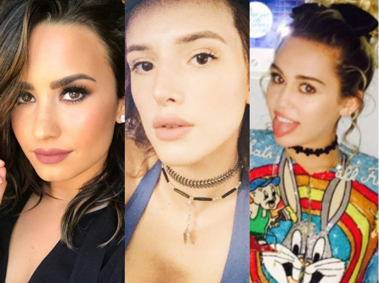 Bella Thorne has crushes on Demi Lovato and Miley Cyrus
