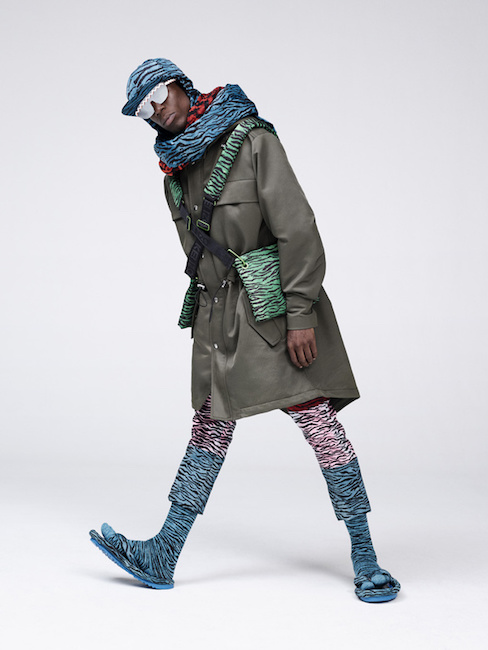 All The Mens Looks From The Kenzo X Hm Collection