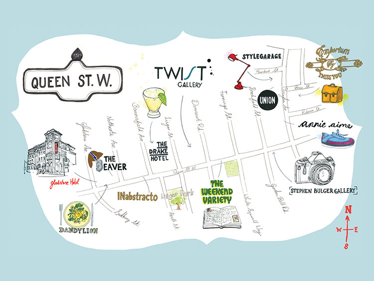 West Queen West: A Walk Through Toronto's Creative Core