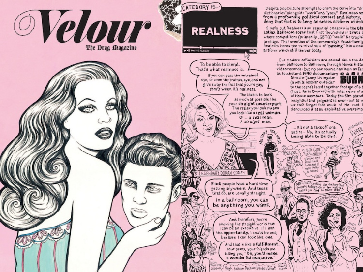 velour the drag magazine realness