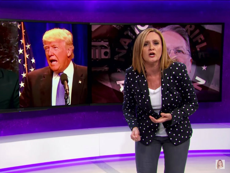 Samantha Bee Blames Media For Hillary Clinton