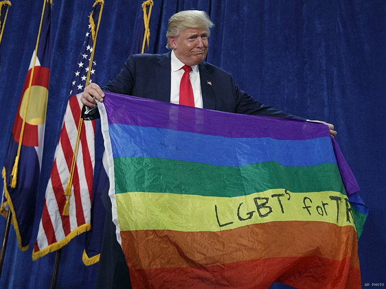 Donald Trump presidency LGBT gay rights us election 2016