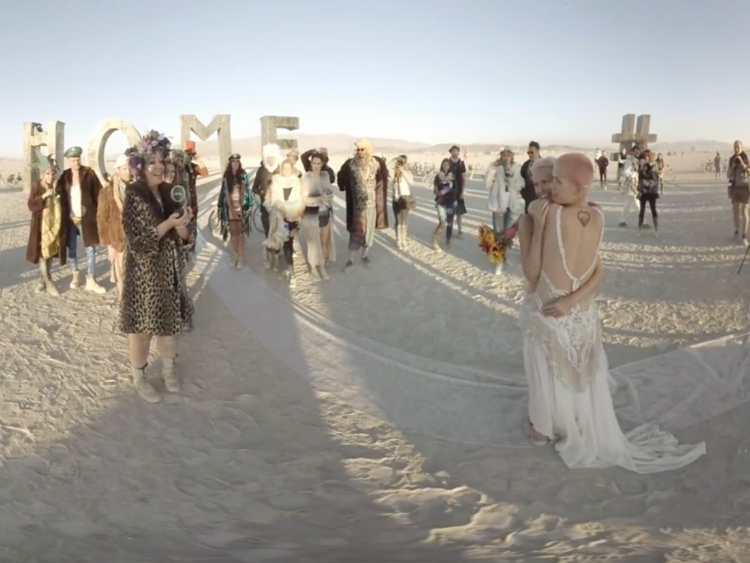 Experience a Same-Sex Wedding at Burning Man in Virtual Reality