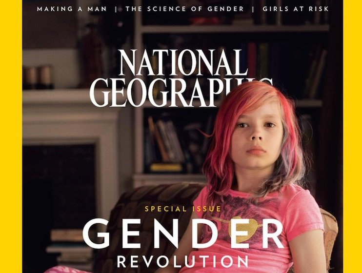 'National Geographic' Publishes Special Issue on Gender Revolution, Celebs Praise the Mag