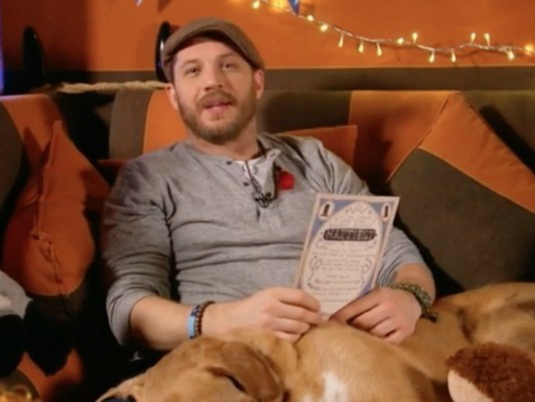 Go to Bed with Tom Hardy and His Bedtime Story (Watch)