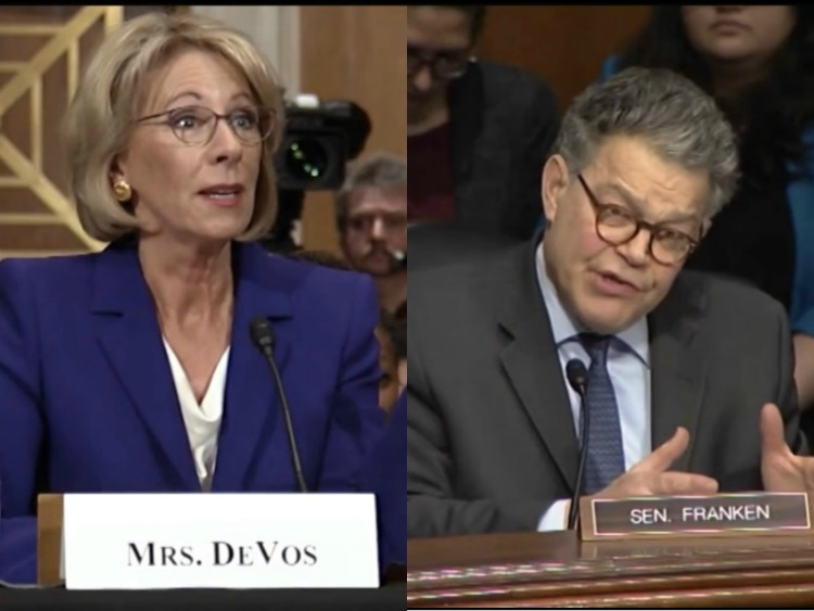 Wyden declares opposition to education secretary nominee Betsy DeVos
