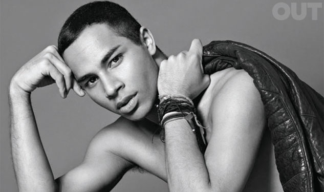 Olivier Rousteing photographed by Santiago & Mauricio for Out