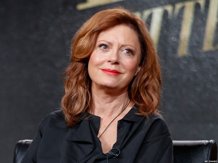 Susan Sarandon Says 'My Sexual Orientation Is Up for Grabs'