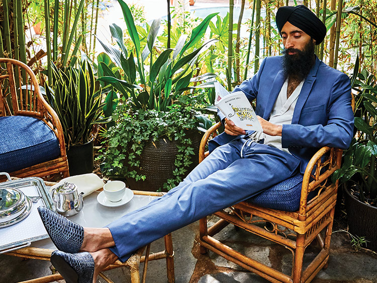 e97e9acaa5 Waris Ahluwalia's Collaboration With The Kooples Draws on Borderless Travels