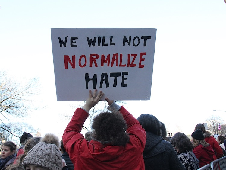 normalize hate