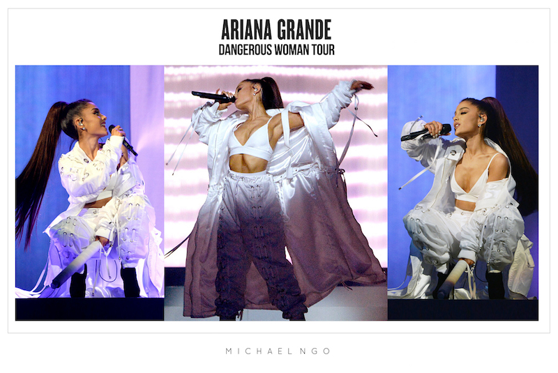 Michael Ngo Ariana Grand Tour Facebook