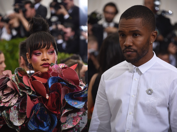 Rihanna S Reaction To Seeing Frank Ocean At The Met Gala Is