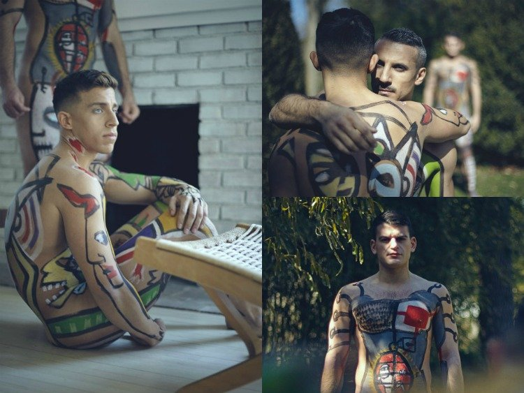 Boy Interrupted Body Painting