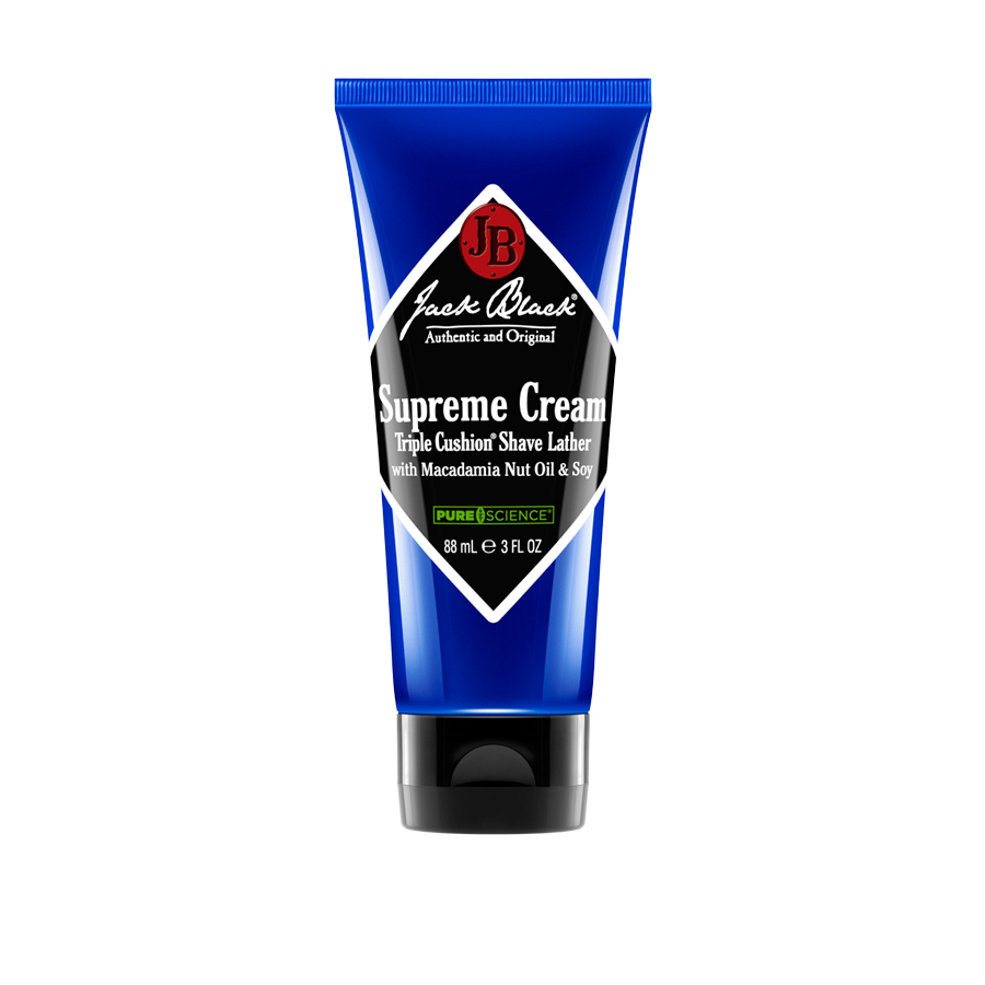 Jackblack Supreme Cream Triple Cushionr Shave Lather 3oz
