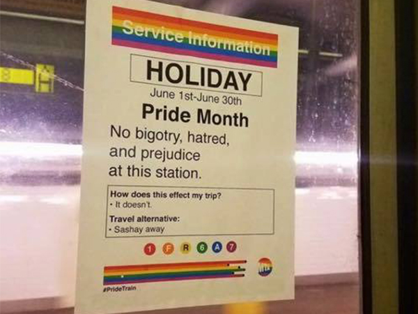 Pride Train Aims to Keep the Underground Safe This June