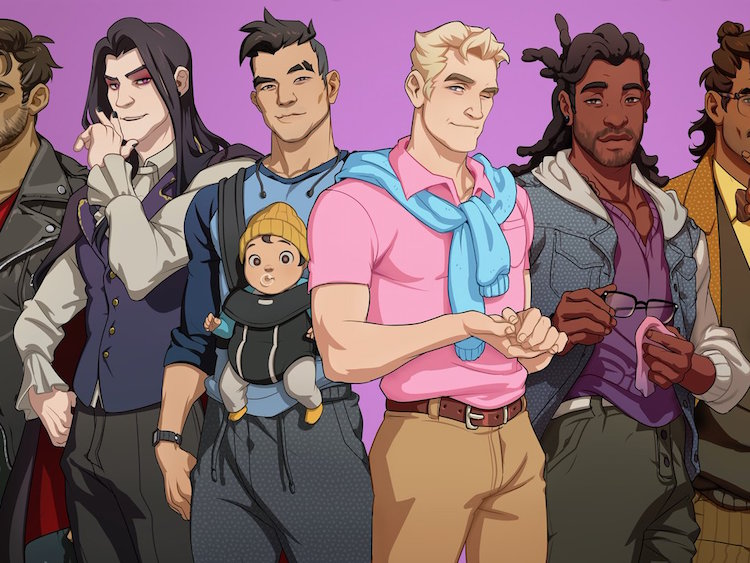Dream Daddy A Daddy Dating Simulator