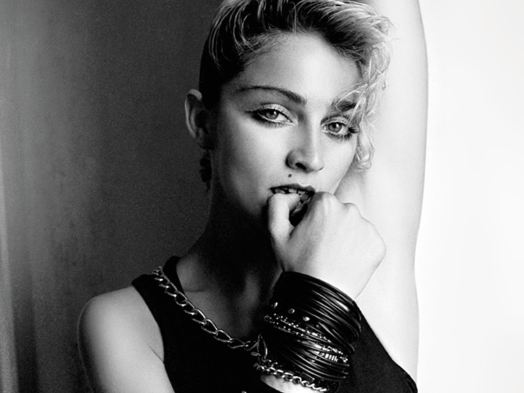 Madonna by Richard Corman