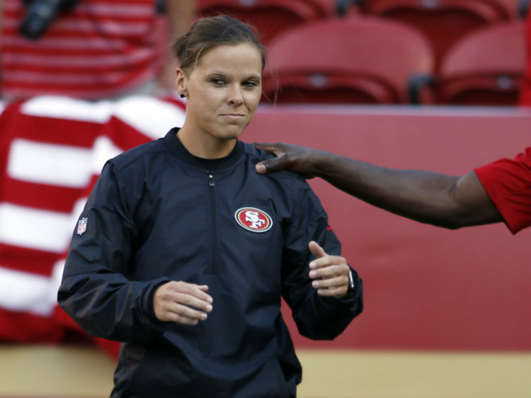 49ers Assistant Katie Sowers Becomes First Openly LGBT Coach In NFL
