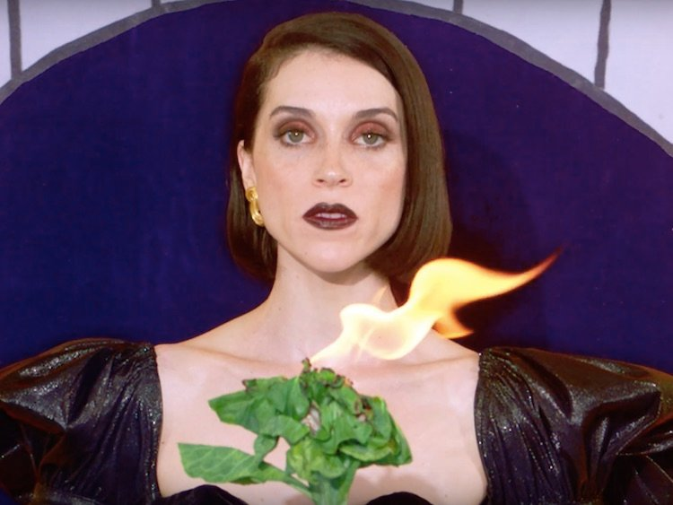 St Vincent gets kitschy in her 'New York' video