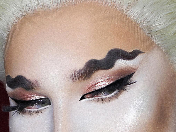 five people who did wavy eyebrows right