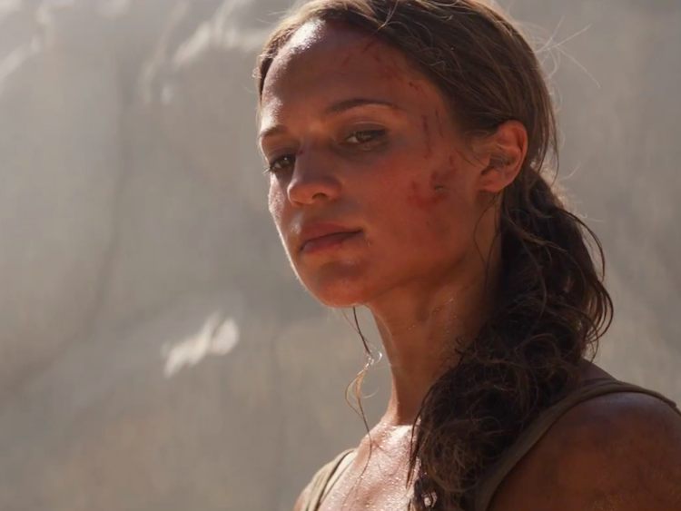 How Alicia Vikander Gained 12 Pounds of Muscle for Tomb