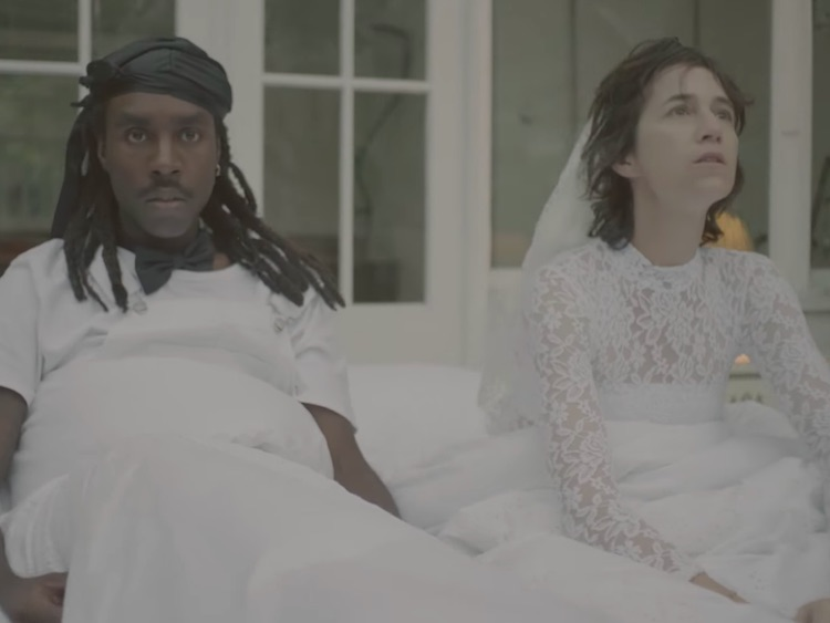 charlotte gainsbourg dev hynes are lifelong lovers for 39 deadly valentine 39. Black Bedroom Furniture Sets. Home Design Ideas