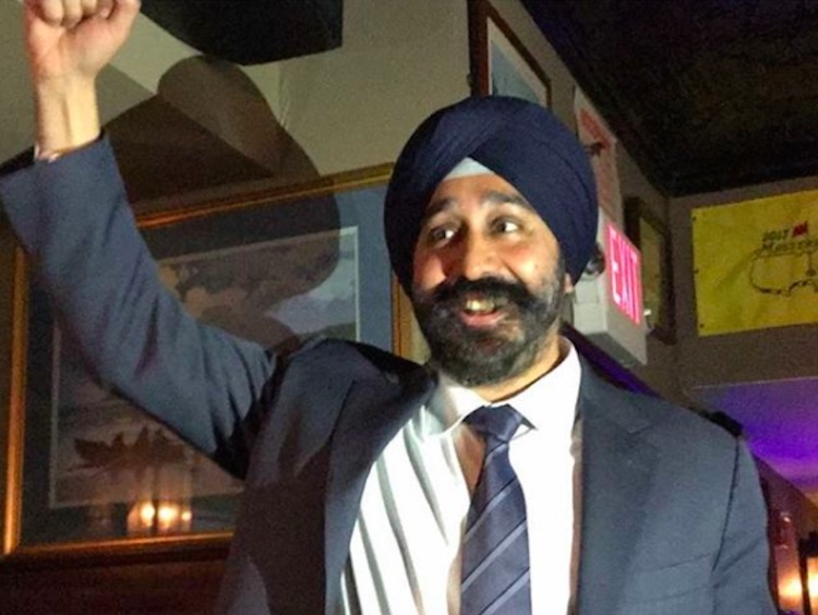 Bhalla elected first Sikh Mayor of New Jersey city