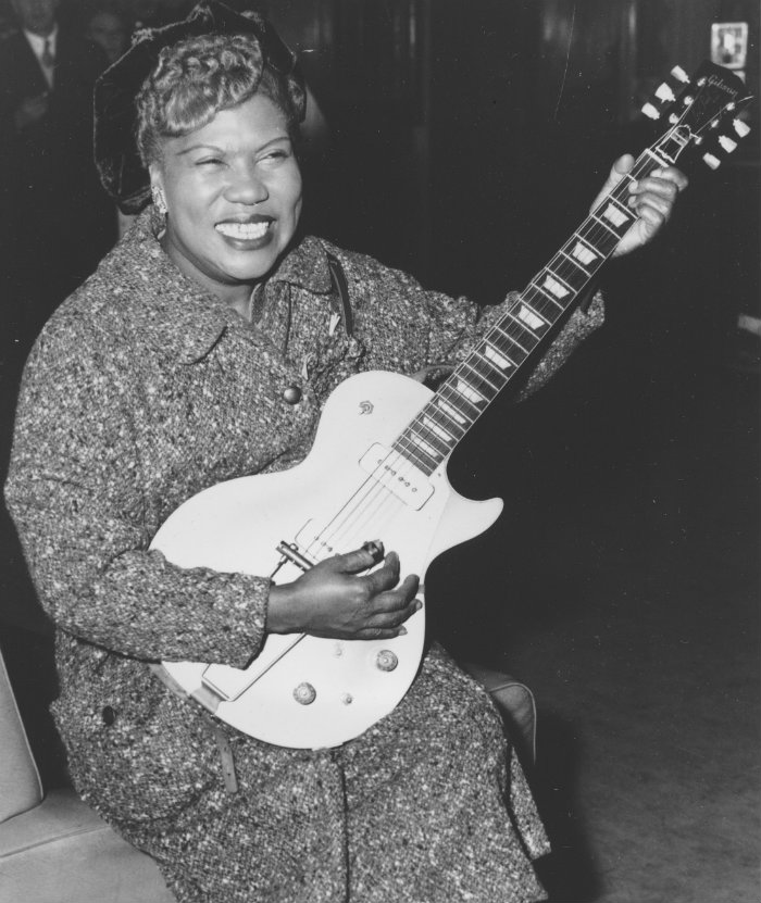 Sister Rosetta Tharpe, Rock and Roll Hall of Fame, Elvis Presley