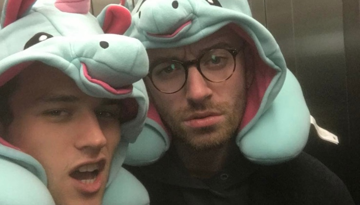 Sam Smith and Brandon Flynn go Instagram official with cute snap