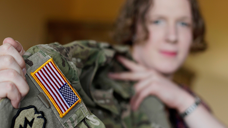 Transgender people cleared to join United States military with proposed ban on hold