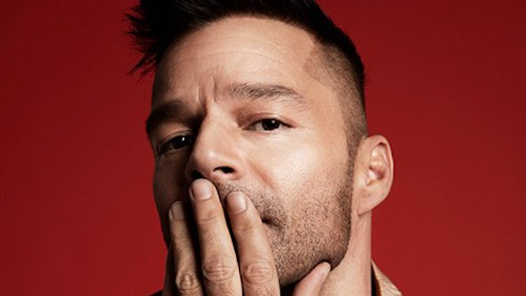 """Ricky Martin opens the doors to his attractive Beverly Hills home"""""""