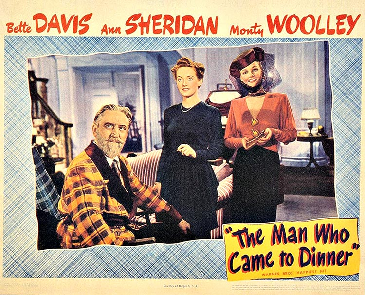 The Seminal Gay Film 'The Man Who Came To Dinner' Originates