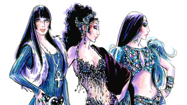 Bob Mackie Will Design The Costumes in 'The Cher Show'