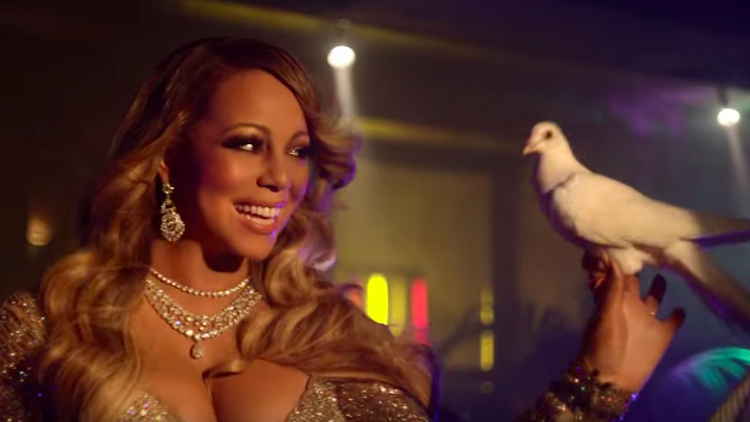 What Is Mariah Carey Doing In This Commercial For Hostelworld?