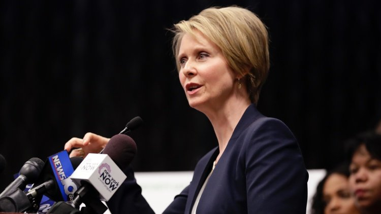 Cynthia Nixon Wants to Legalize Marijuana in New York