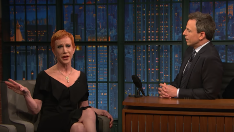 Kathy Griffin Takes Back Apology to Donald Trump: 'F**k Him!'