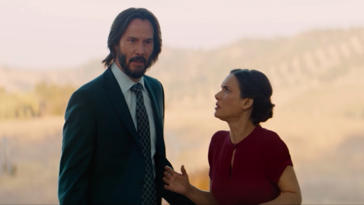 Winona Ryder & Keanu Reeves Reunite in 'Destination Wedding' Trailer (Watch)