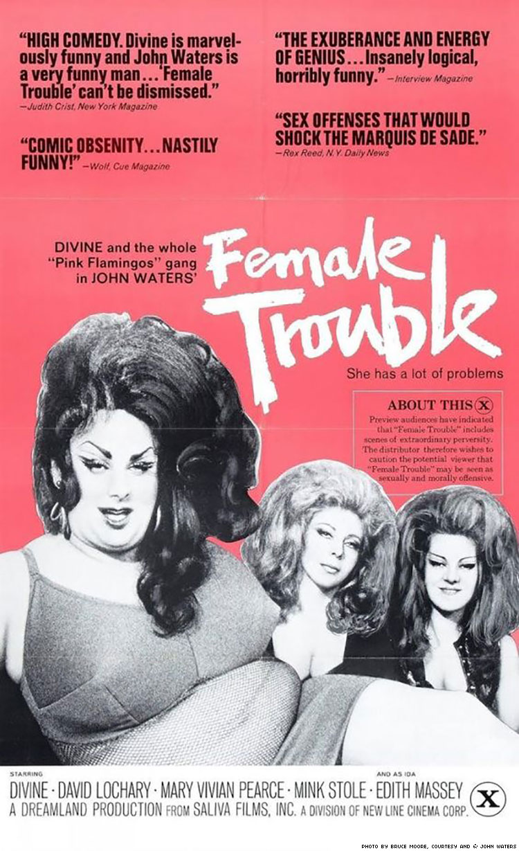 Poster Female Trouble750x