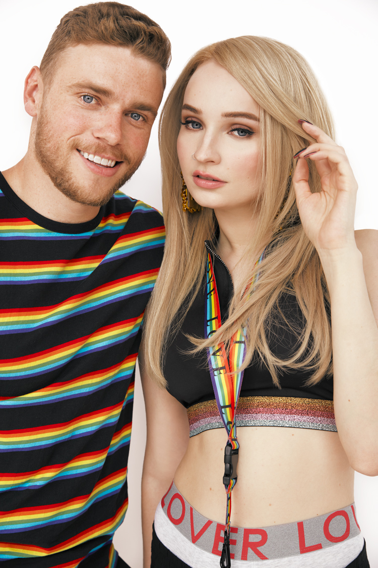 Gus Kenworthy Kim Petras Pride OUT Loud H&M Fashion