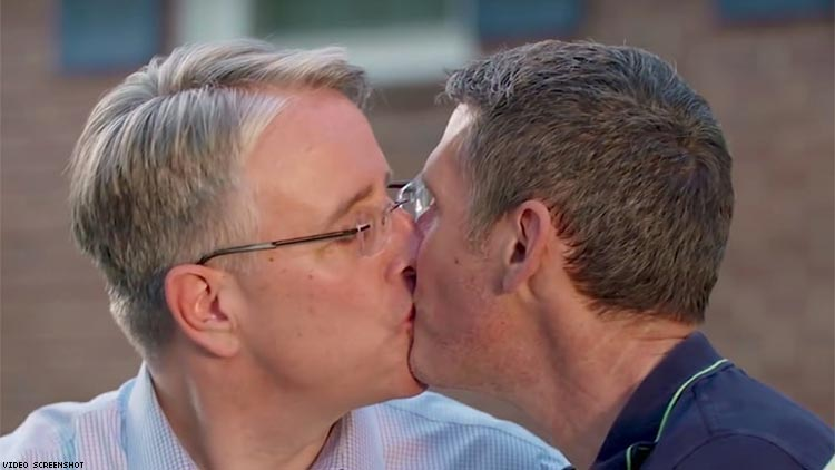 "Gubernatorial Candidate Kisses Husband in Ad during ""Fox and Friends"""