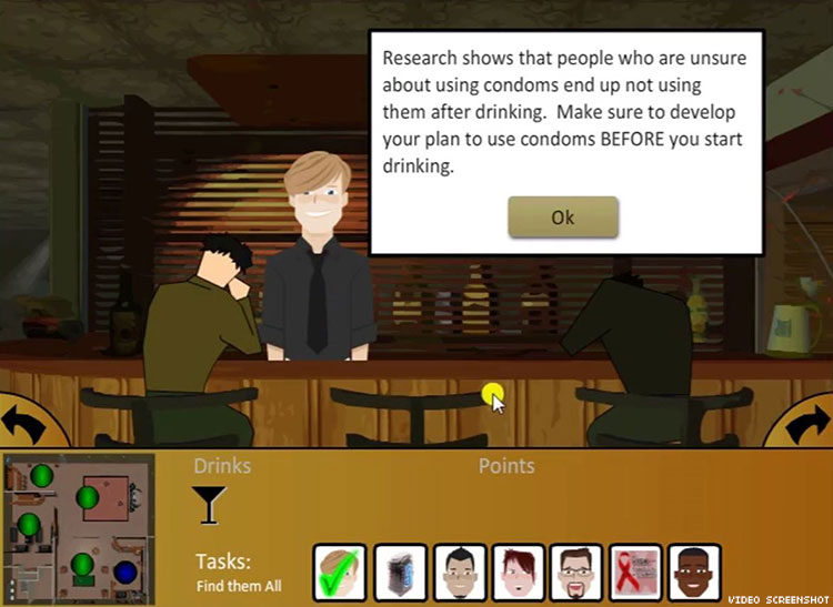 Sexually transmitted infections game