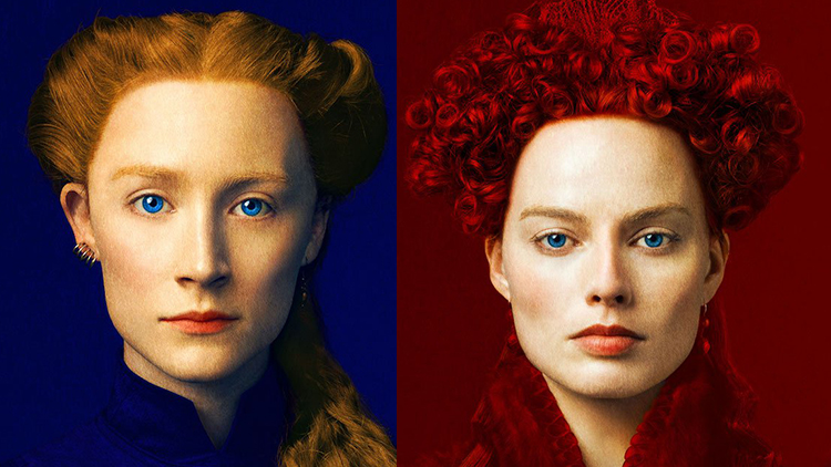 scream for saoirse ronan and margot robbie in mary queen of scots