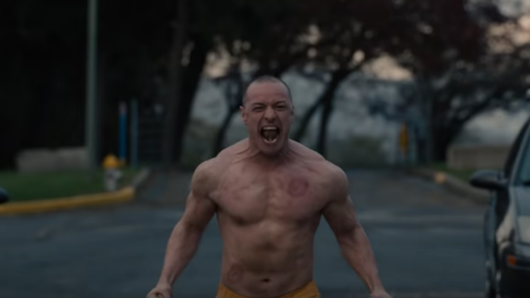 James McAvoy is Crazy Ripped In the First 'Glass' Trailer