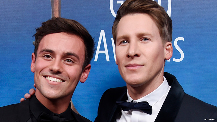 Weeks After Having a Son, Tom Daley is Spearheading a Surrogacy Film