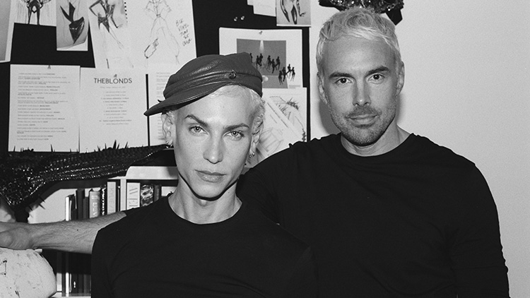 The Blonds Celebrating 18 Years Of Fashions Queer Rock Star Couple Video Exclusive