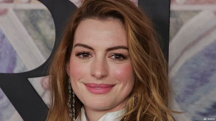 HRC to Honor Anne Hathaway with the National Equality Award