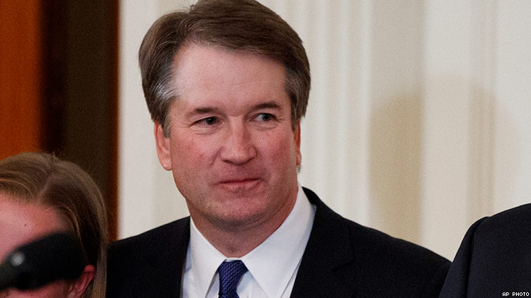 Brett Kavanaugh of Sexual Misconduct Reported to FBI