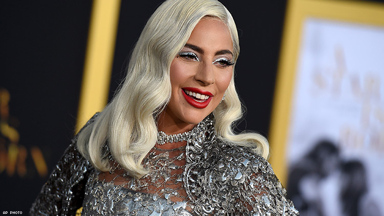 LADY GAGA AP PHOTO